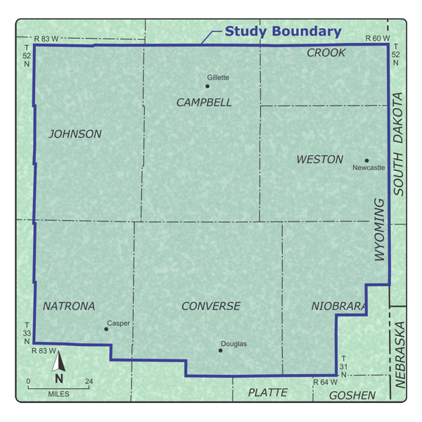 Dakota/Lakota Sandstones of the Powder River Basin